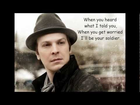Gavin DeGraw - Soldier (lyrics)  My I-Need-A-Shoulder-To-Lean-On song