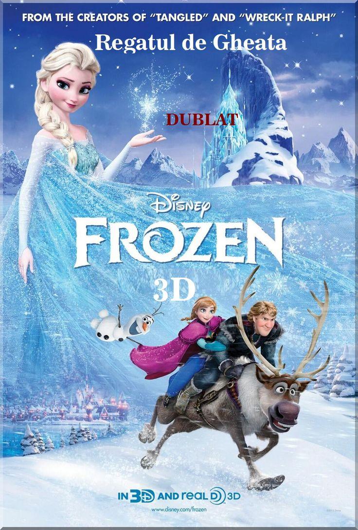 Frozen 3D - Regatul de Gheata - Dublat in limba romana / Muzical / Fantezie / Familie / Comedie / Aventura / Animatie / 108 minute