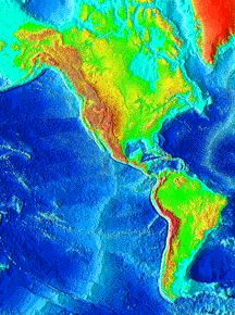 Earth global surface features - Windows to the Universe...An image ...