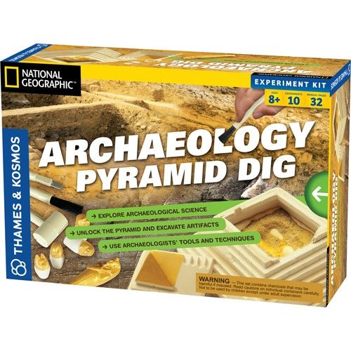 Kids Archaeology Kit - Egyptian Pyramid Dig - New Edition