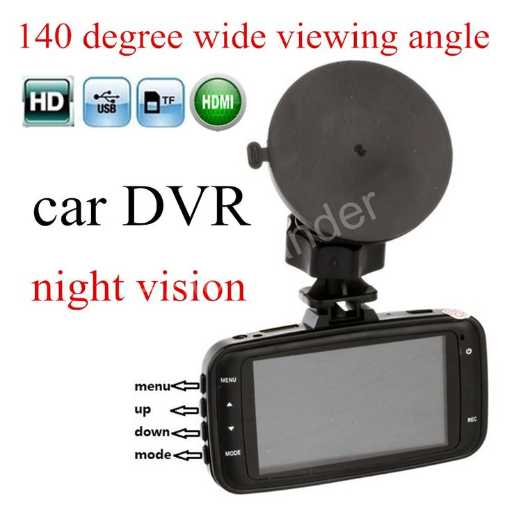 hot sale Full HD Night Vision 1080P Car DVR Dash Cam Vehicle Camera Vedio HDMI Rcorder GS8000 G-sensor 2.7 inch LCD scrren