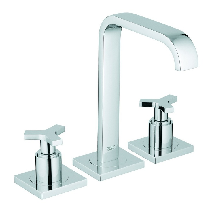 Grohe allure widespread chrome bathroom sink faucet http for Master bathroom fixtures