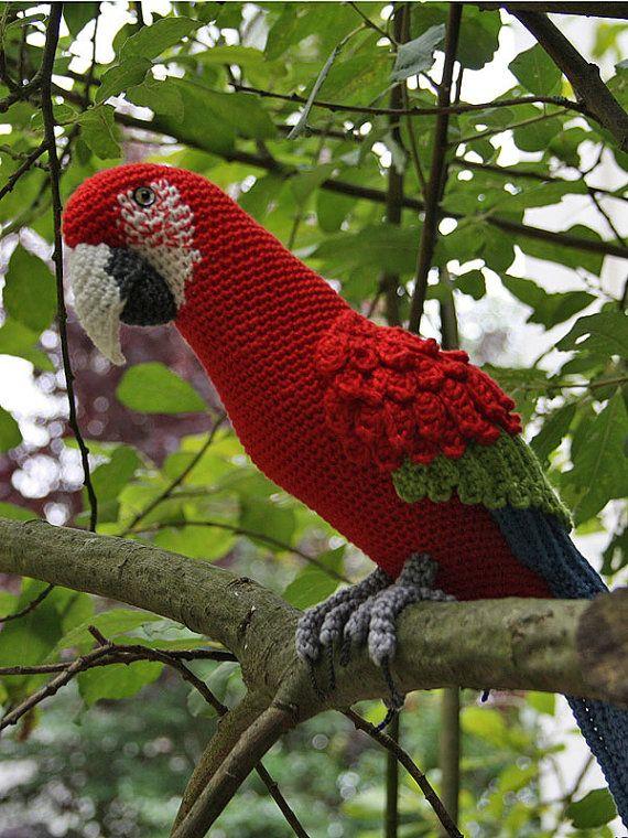 Patrón de Amigurumi Red-and-Green por CAROcreated en Etsy