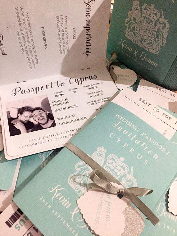 Destination Wedding Invite Abroad Wedding Passport Etsy Destination Wedding Invitations Passport Wedding Invitations Wedding Invitations
