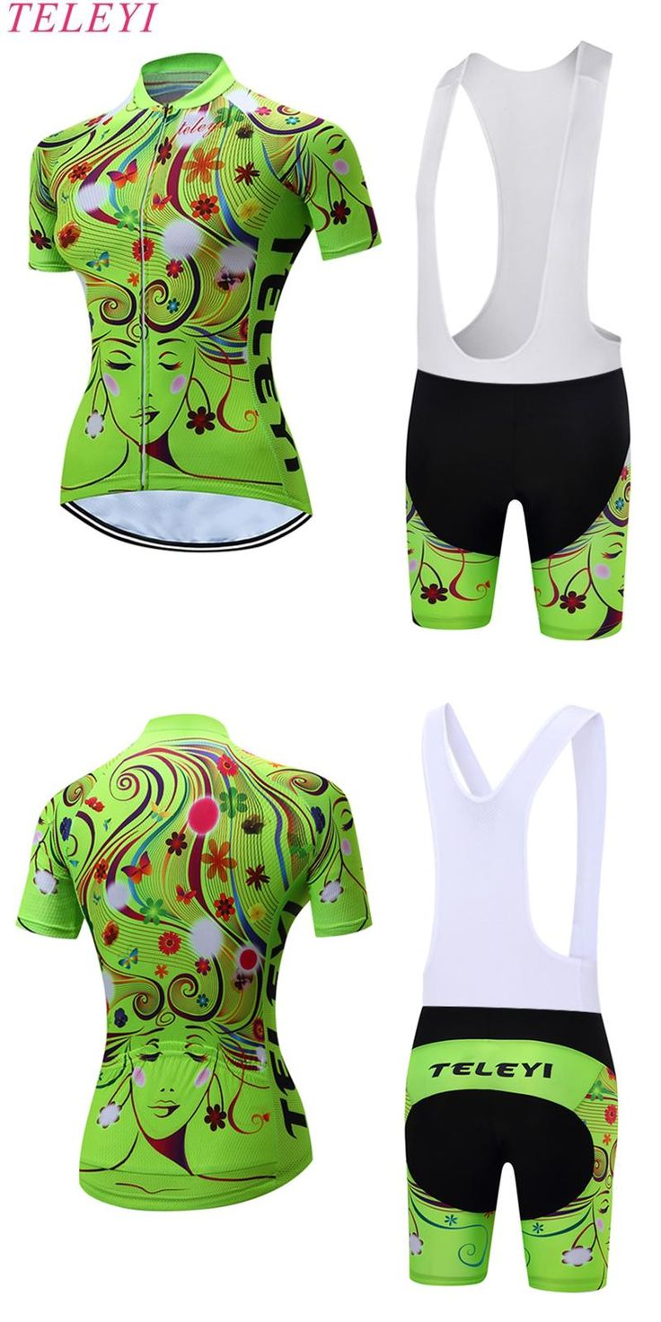 [Visit to Buy] 2017 Summer Breathable Mountian Pro woman Cycling jersey/Quick-Dry Short Sleeve Girl Cycling Clothing MTB Bike Cycle Clothes #Advertisement