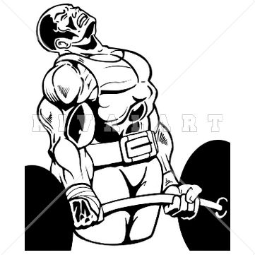 17 Best images about Awesome Weight Lifting Clip Art! on Pinterest ...