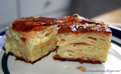 Gibanica - My Favorite bread substitute for a meal