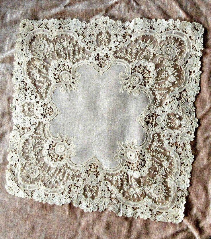 Vintage lace hankie ♥ ßeutiƒul