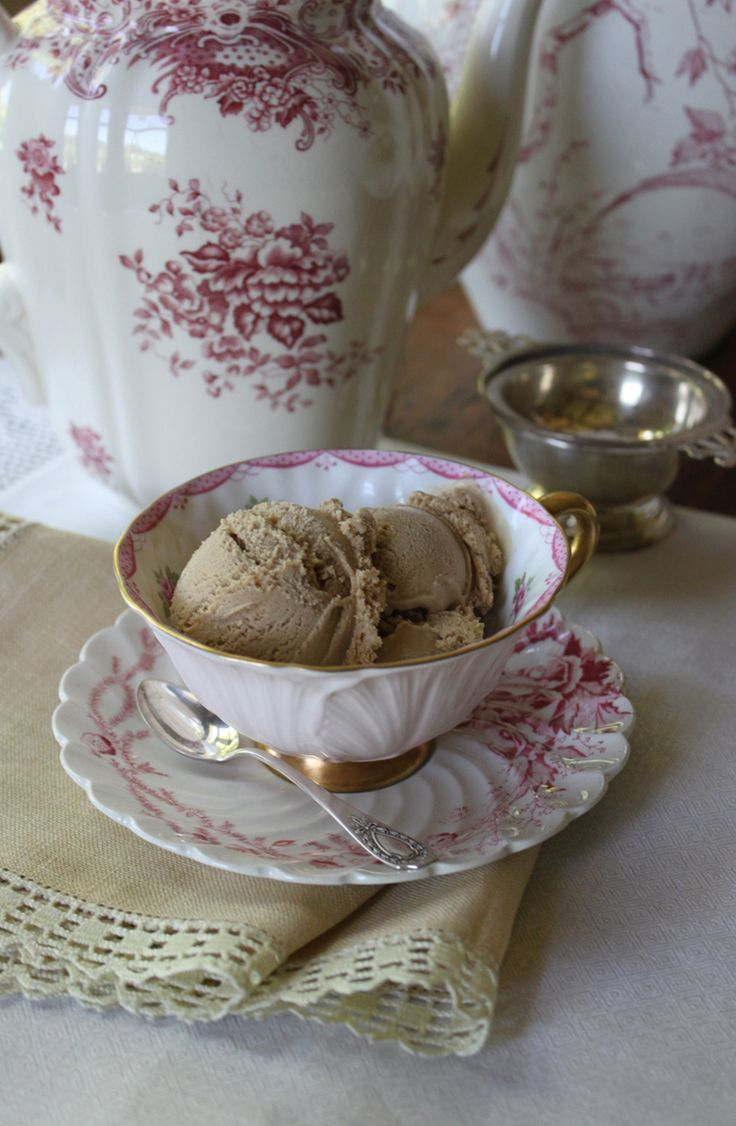 RECIPE: Lapsang Souchong (Smoked Black Tea) and Star Anise Ice Cream by Julia M. Usher