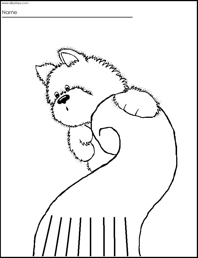 Awesome and cute pictures for straight line cutting practice for toddlers from www.silkysteps.com