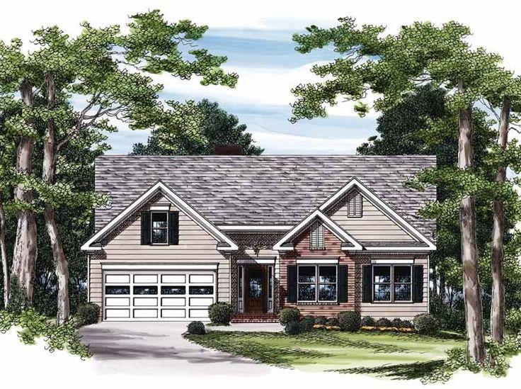 Eplans Cottage House Plan Efficient Narrow Lot Design