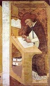 Sala del Capitolo - Treviso ( particolare ) primo dipinto che raffigura un paio di occhiali 1352