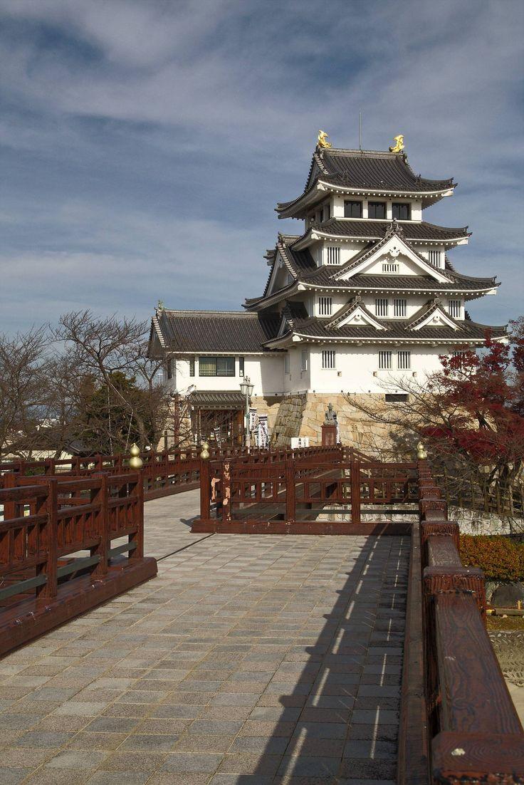 """[OC] Sunomata Castle the """"One Day Castle"""" in Gifu Prefecture"""