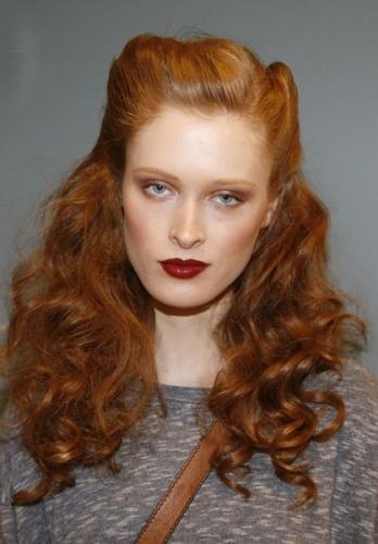 Edward Tricomi hair for fashion week