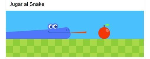 De la serpiente al comecocos: cómo actitvar los juegos ocultos en el buscador Google