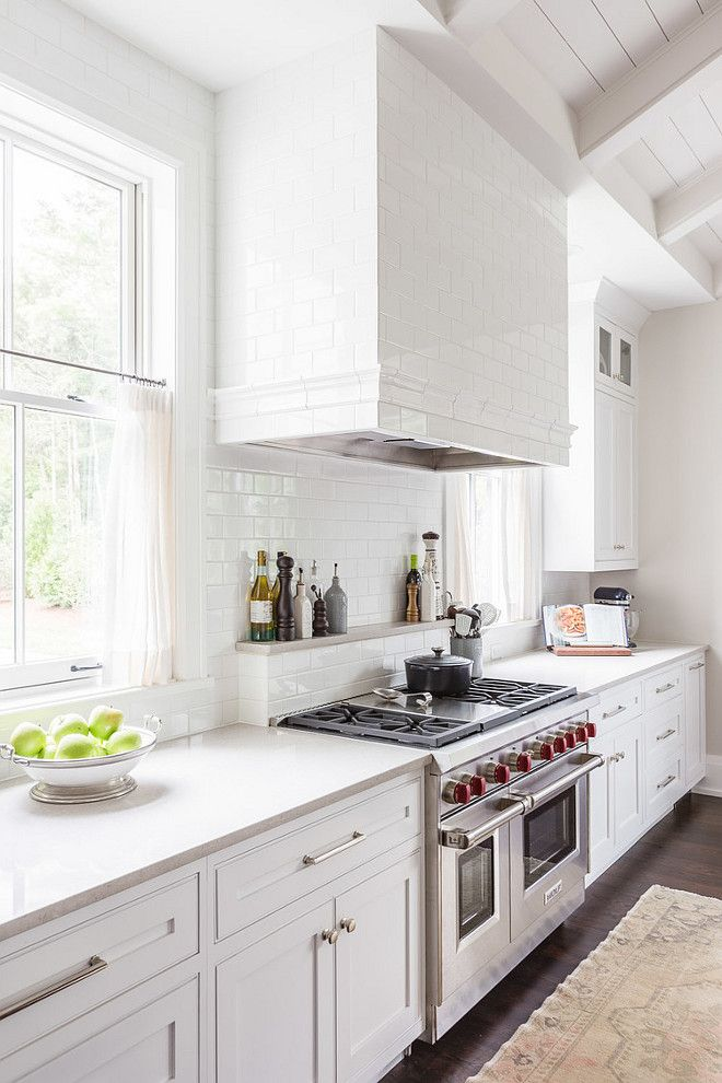 Southern Home With Neutral Interiors Kitchen Cabinet Color Is Sherwin Williams Snowbound Sw 7004