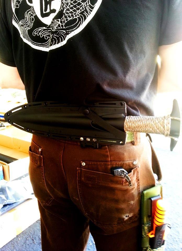 Matt Kilgore has an awesome Boar Spear mod - turning it into a Machete / Short Sword! Very cool :)