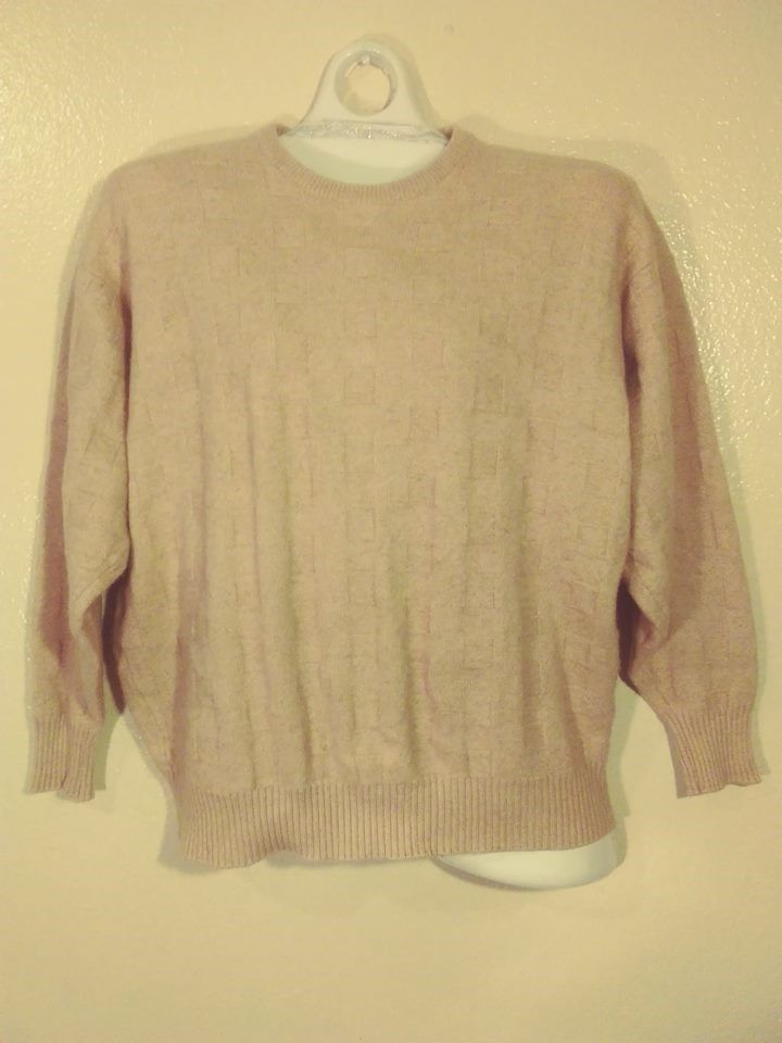 Neiman Marcus Womens Sweaters Size Xl Color Brawn Long Sleeves