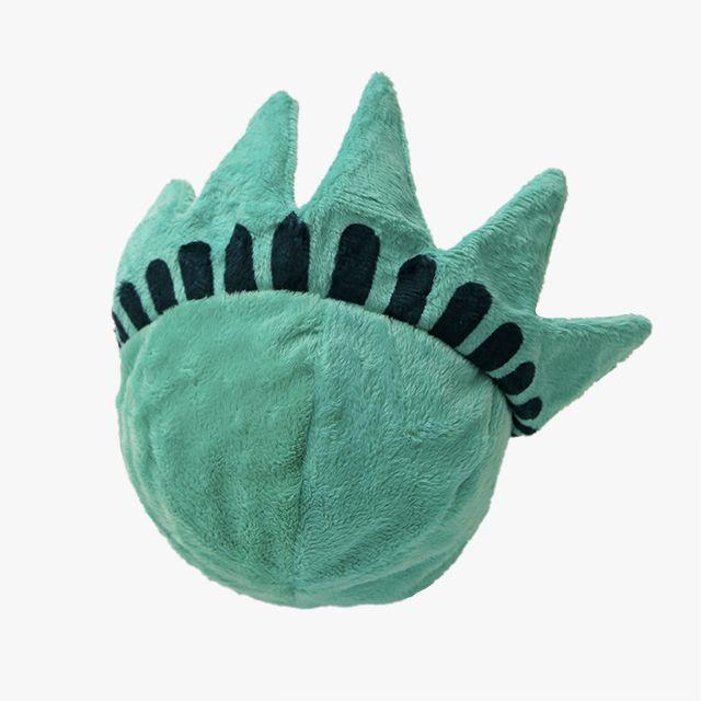 Lady Liberty Ball Dog Toy