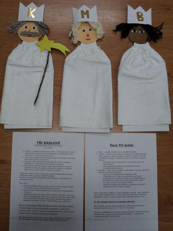 Postavy adventu a Vánoc - Tři králové