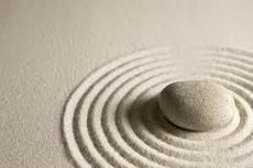 Sand, stone, waves