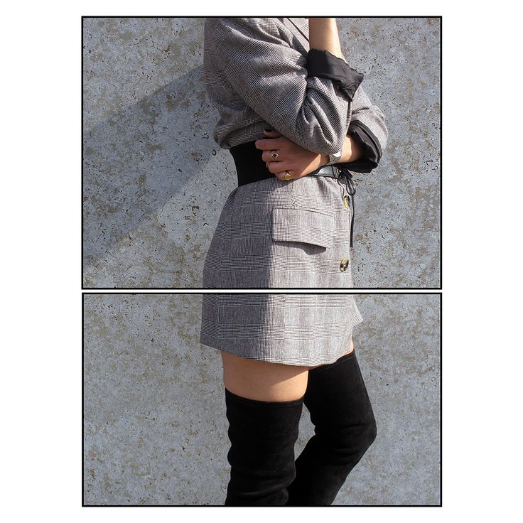LESS IS MORE #LauraBhrd #Blazer #OverTheKneeBoots #Zana #AndOtherStories #Parisienne #Parisian