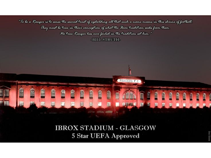 Home to the mighty Rangers