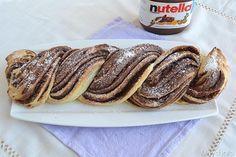 Brioche intrecciata alla nutella, scopri la ricetta: http://www.misya.info/2015/04/20/brioche-intrecciata-alla-nutella.htm