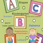 Hello Teachers,      This is a learning packet titled, Kindergarten! Stepping Stones to First Grade! It has 55 worksheets that review Math and Lang...