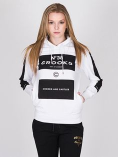 CROOKS AND CASTLES KLEPTO P/O HDY