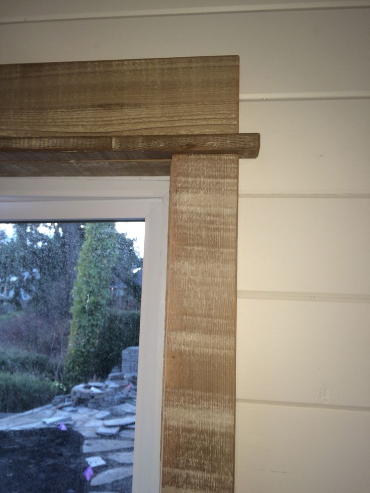 Barn Wood Window Trim