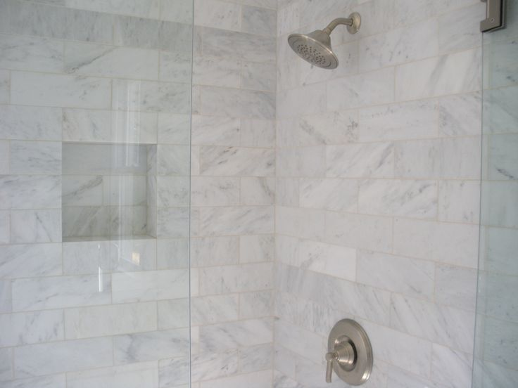 White Marble Tile Bathroom plain bathroom shower tile white designs intended design