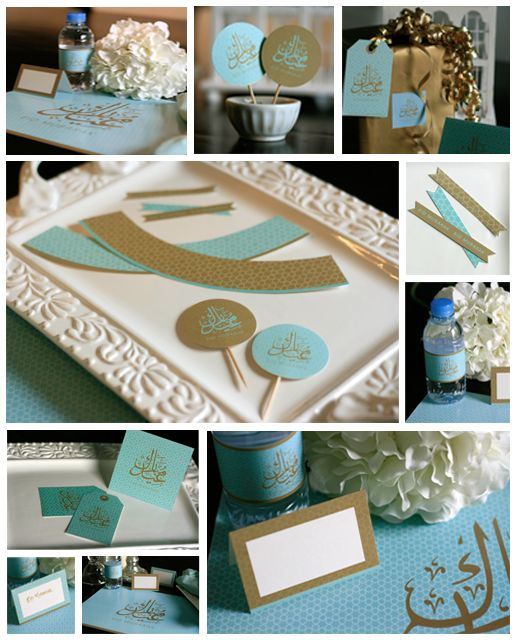Paper Couture - Personal stationery and themed party printables: FREE Eid Printables