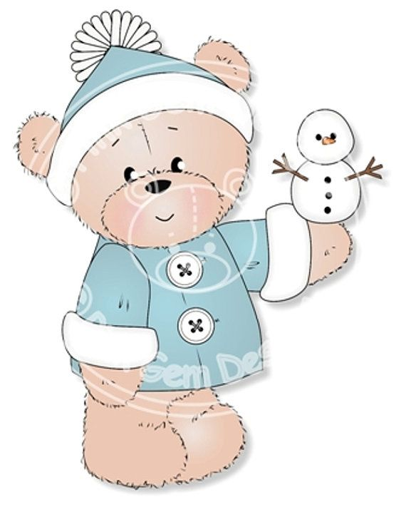 Digital Digi Barclay with Snowman  Stamp. Makes by PinkGemDesigns