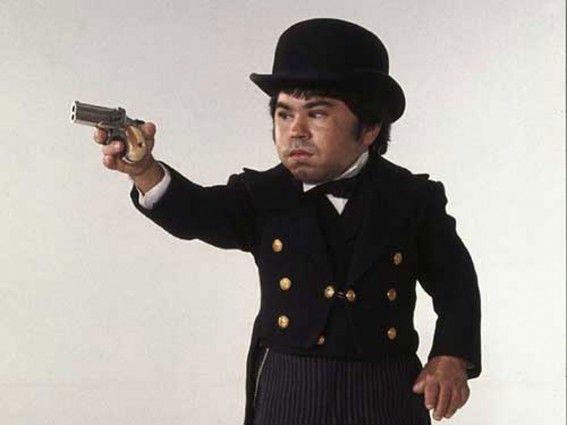 Bond james manservant midget movie nack named nick