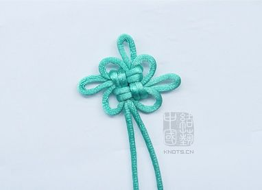 How to make a Chinese knot (step by step instructions) 吉祥结 - 清心微澜