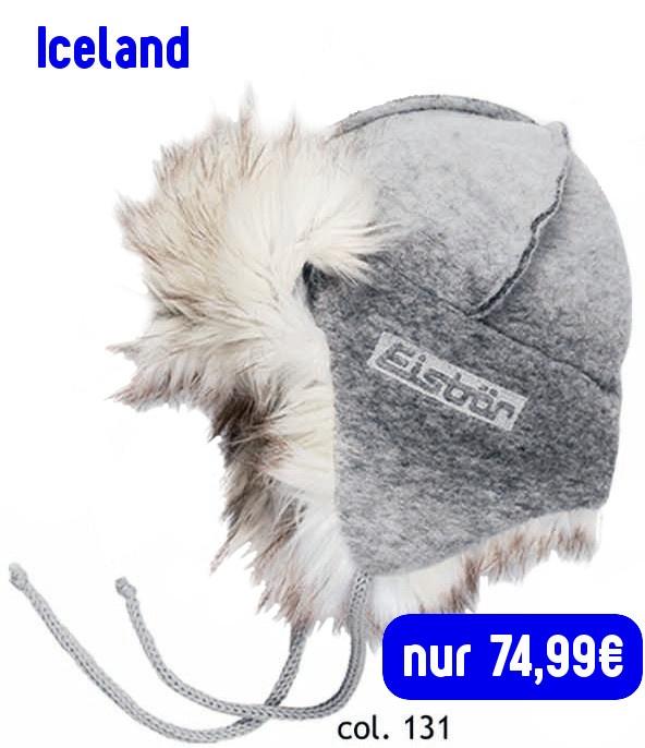 Eisbär Mütze Iceland