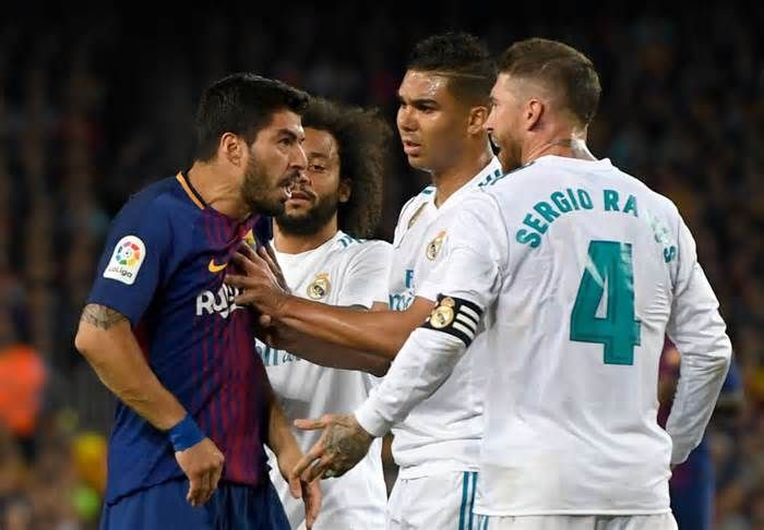 La Liga Want To Move Barcelona V Real Madrid To Avoid Protests Get The Latest News For Realmadrid Inside Pinterest Real Madrid La Liga Real Madrid Football