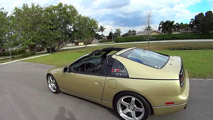 My Gold Pearl 1990 Nissan NA, Walkaround And Exhaust Clip