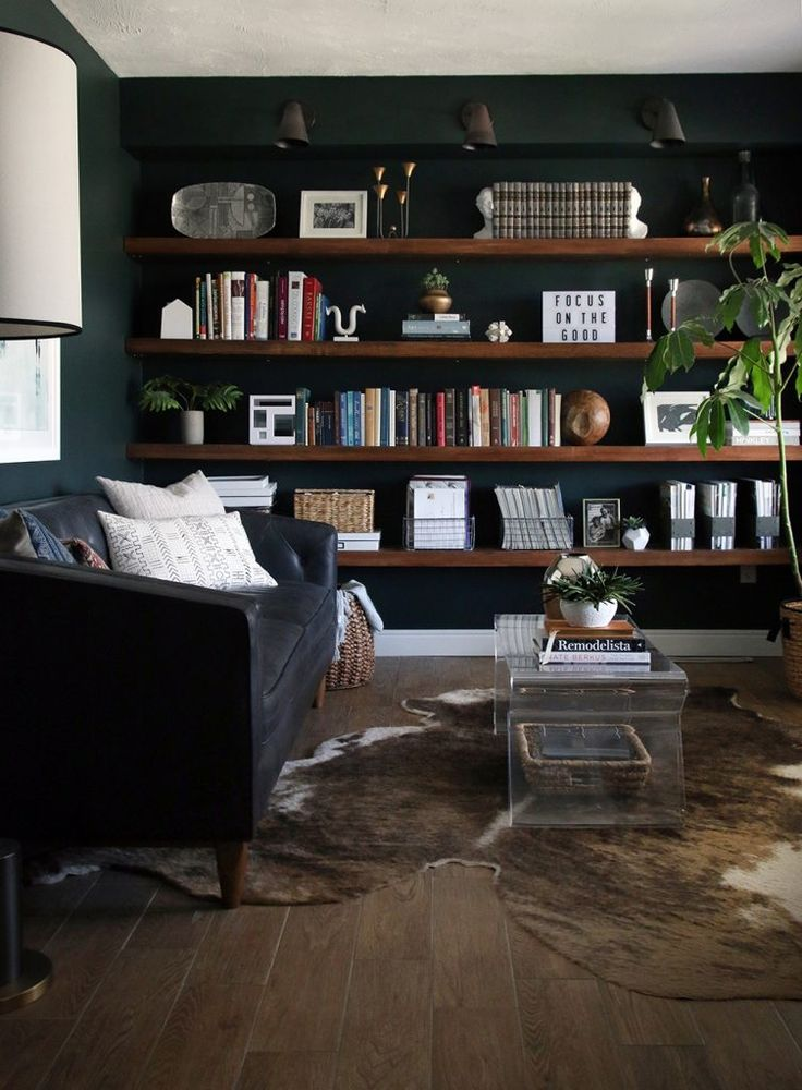 our new modern chesterfield black leather sofa office library rh pinterest com