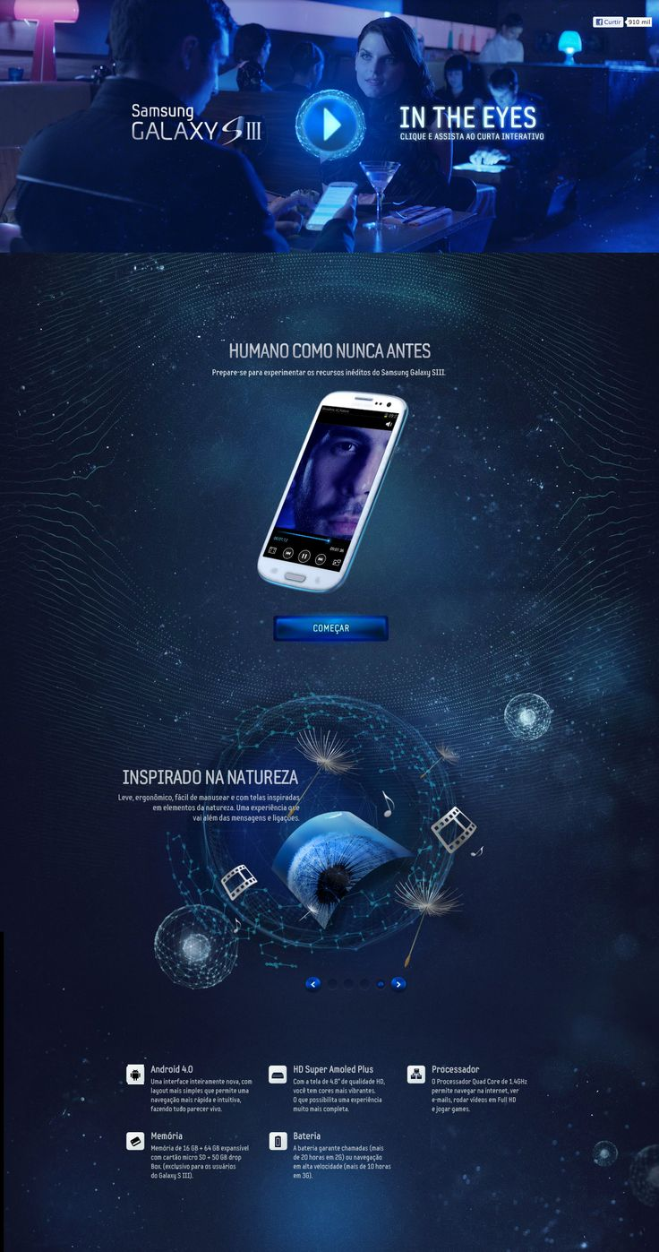 Unique Web Design on the Internet, Samsung Galaxy SIII #webdesign #webdevelopment #website