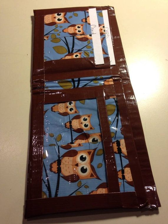 Duct Tape Wallet Teen Girl Wallet Womens Duct Tape by PjCreates, $13.50
