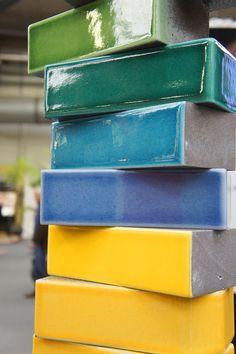 Glazed Lava Bricks by Pyrolave UK