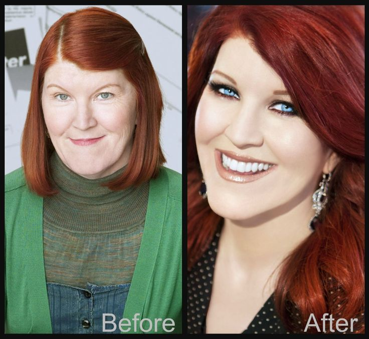 """Kate Flannery from """" The Office"""" B & A by Alexis Get the Kit for Xmas!! http://alexisvogel.com/kits/make-me-over-kits/make-me-over-kit-medium.html"""
