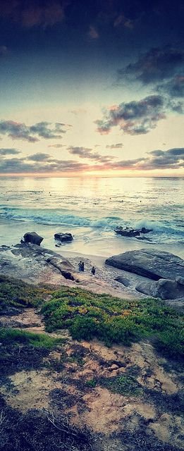 La Jolla CA  One of the most beautiful beaches ever!