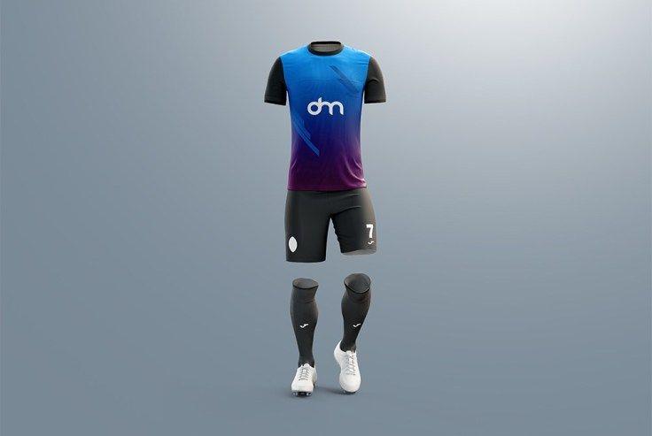 Download Men S Full Soccer Kit Mockup Psd Pixel2pixel Design Soccer Kits Mockup Psd Soccer