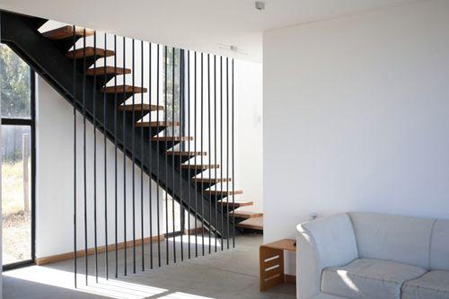 Garde corps pour escalier id es pour construction for Garde corps interieur escalier