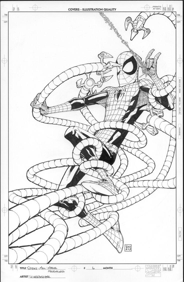 Ausmalbild Iron Man Ausmalbilder Kostenlos Zum Ausdrucken: 15 Besten Spiderman Ausmalbilder Bilder Auf Pinterest