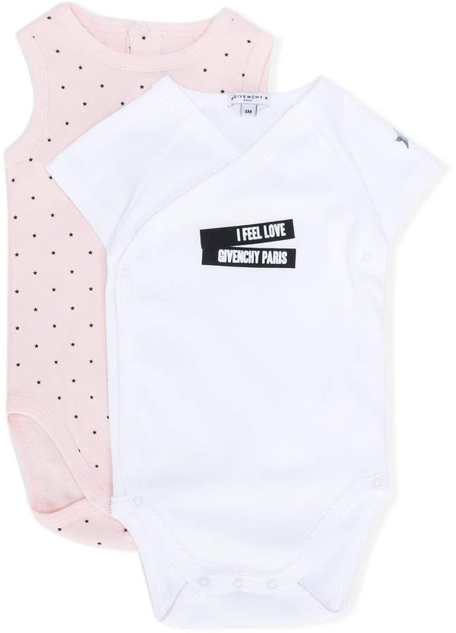 15fa2e4fc Givenchy Baby logo print two-piece set #babygirl, #givenchy, #promotion