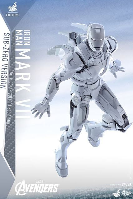 Galaxy Fantasy: Figura de acción de Iron Man Mark VII version Sub-Zero
